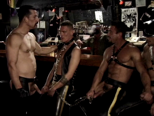 Hot Leather Orgy