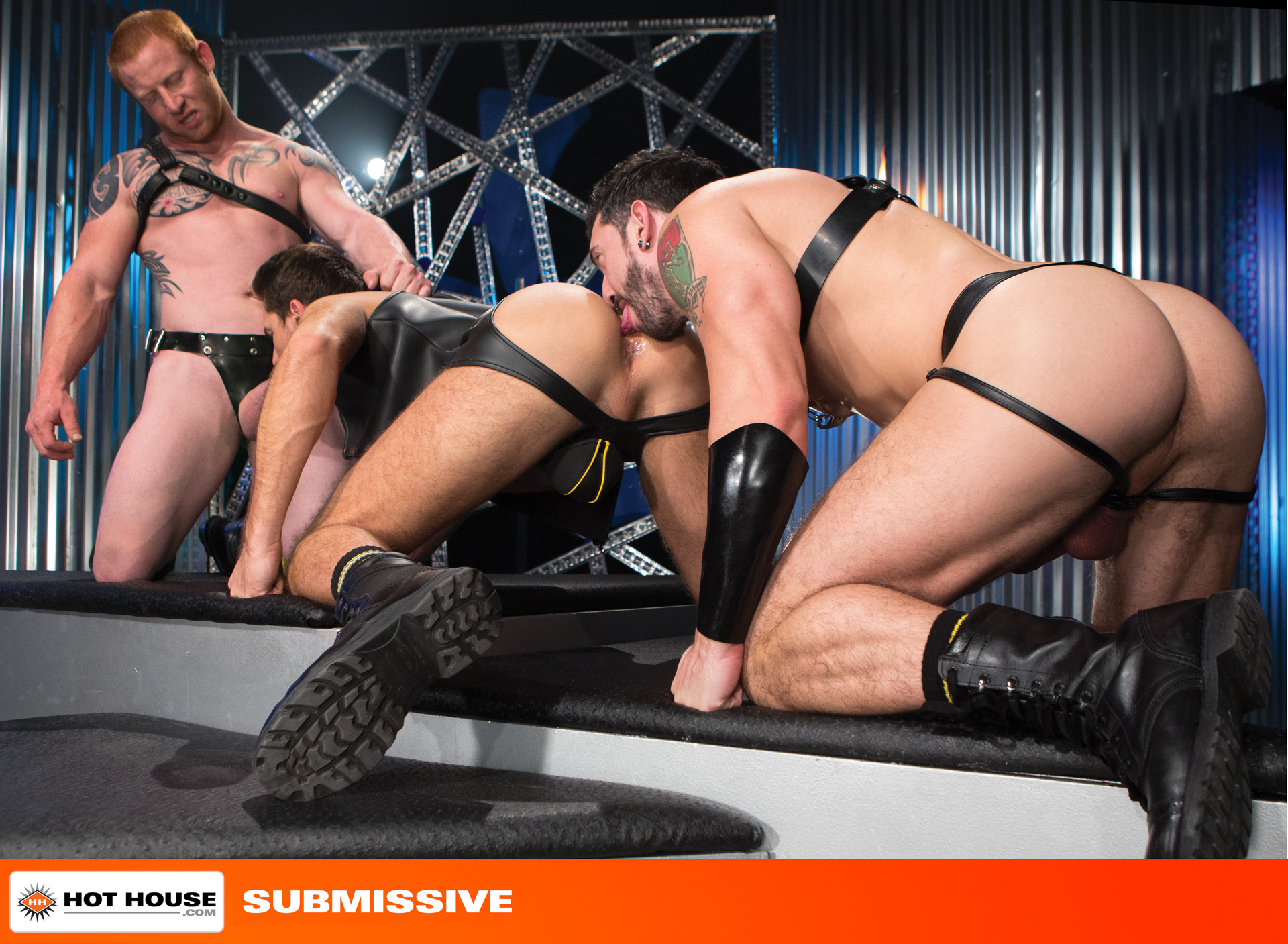 Submissive – Jimmy Durano, Jordan and Theo Ford