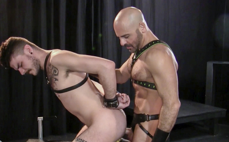 Leather Men: Adam & Luke