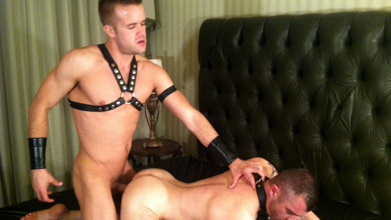 Leather Guys: Connor Patricks and Justin Luck