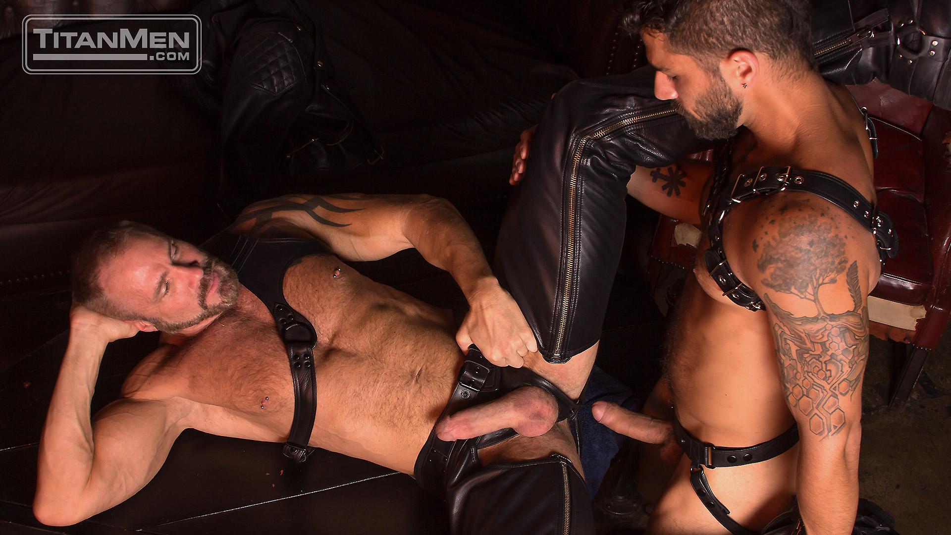 Leather Guys: Dallas Steele and Adam Ramzi