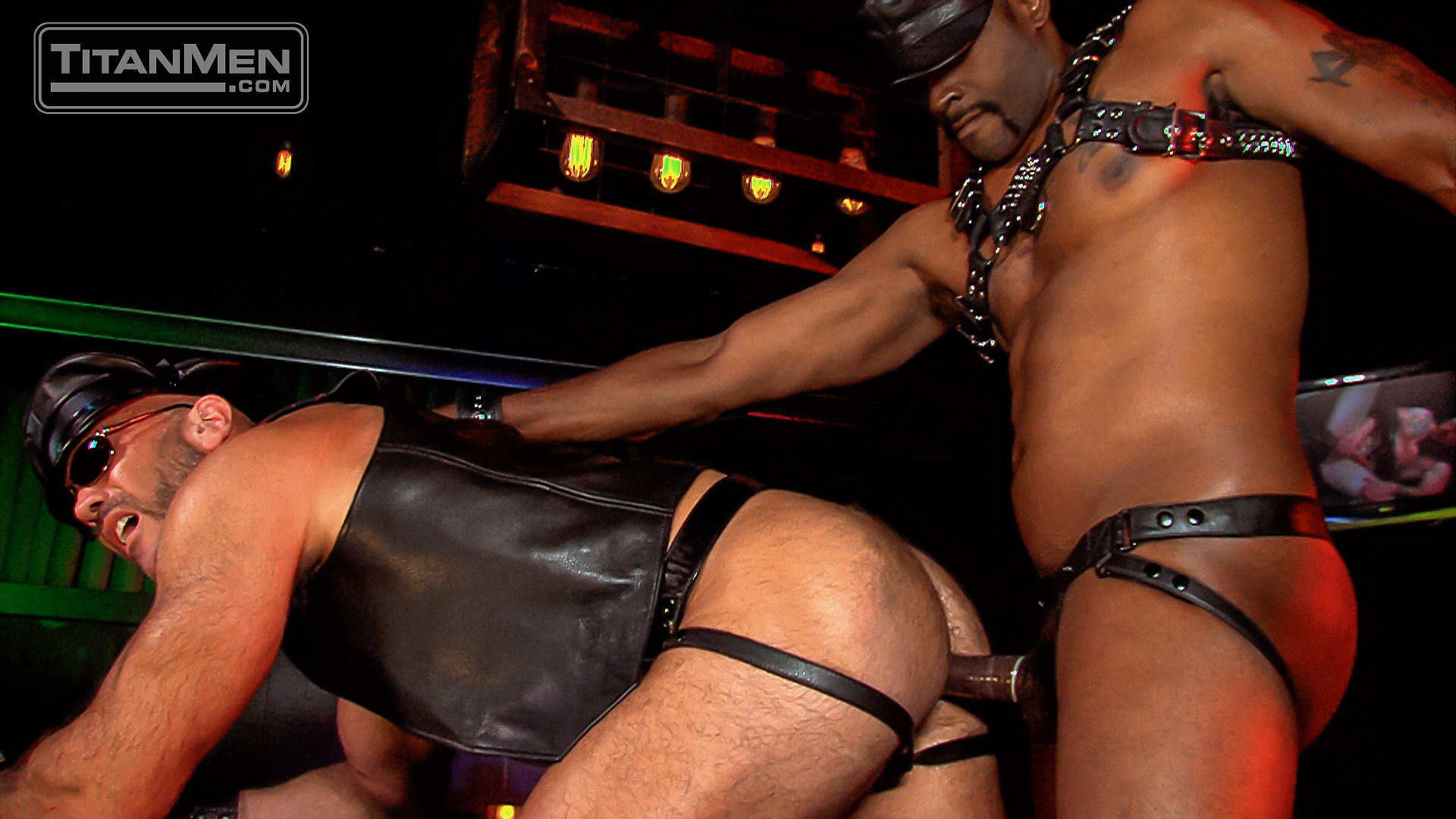 Leather Guys: Jesse Jackman and Diesel Washington