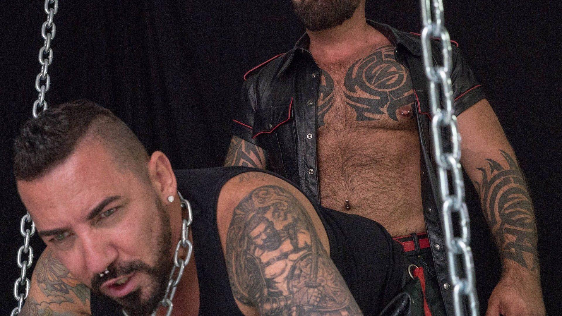 Leather Daddies: Marc Angelo and Adam Knocksville