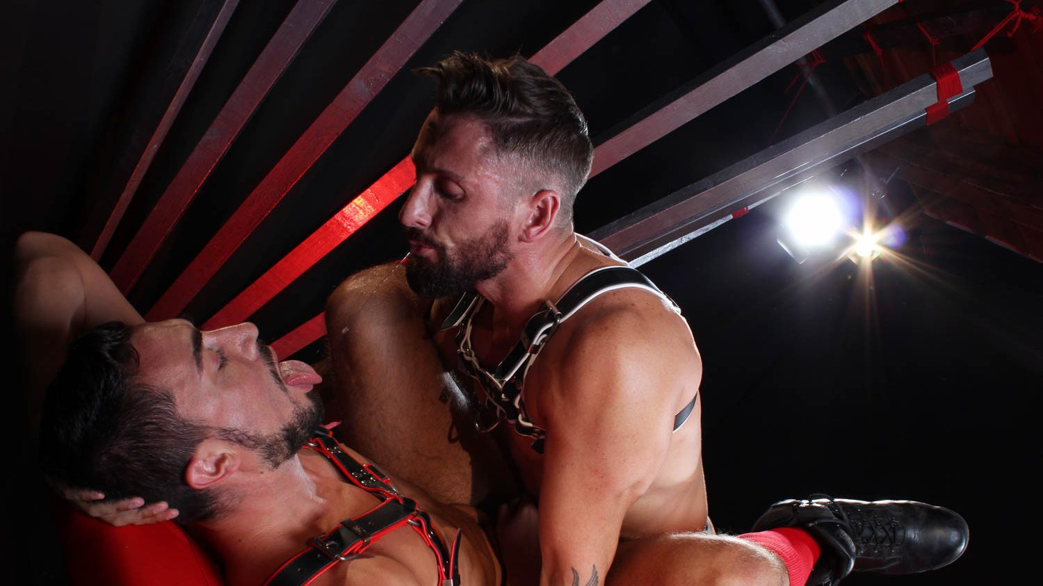 Leather Guys: Nick North and Gaston Croupier
