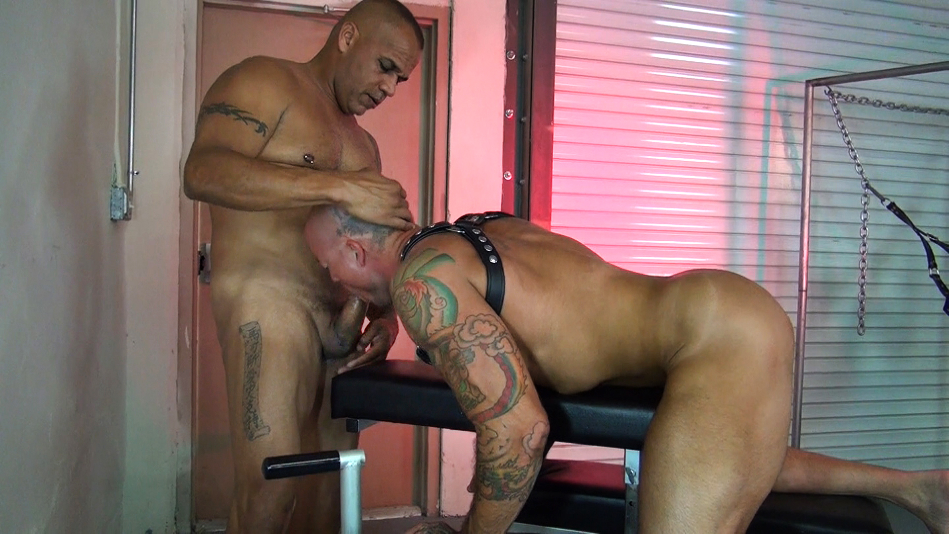 Leather Sex: Sean Duran and Fernando Esteban