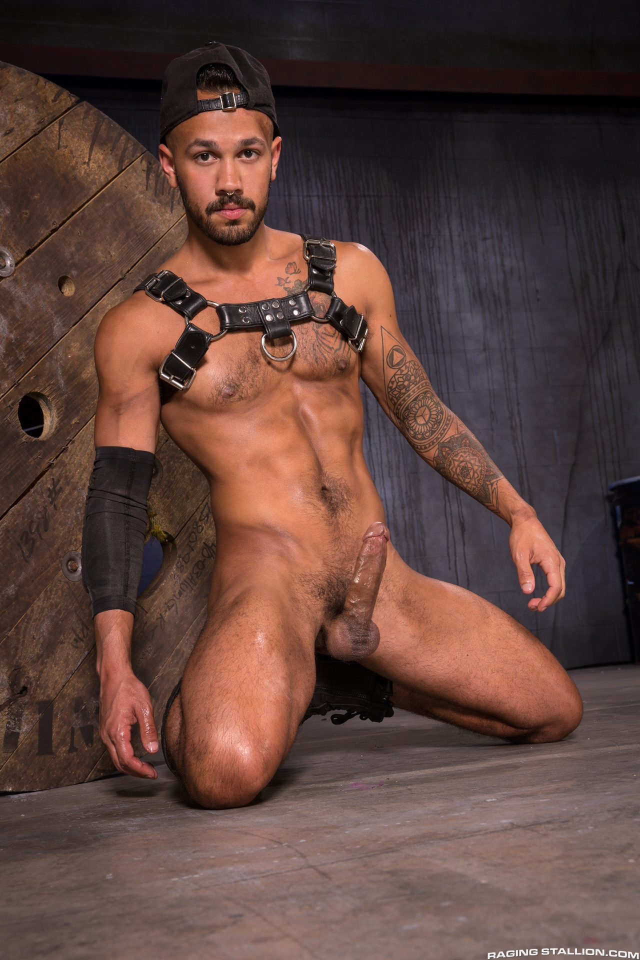 Leather Gay Porn  Gay Male Tube