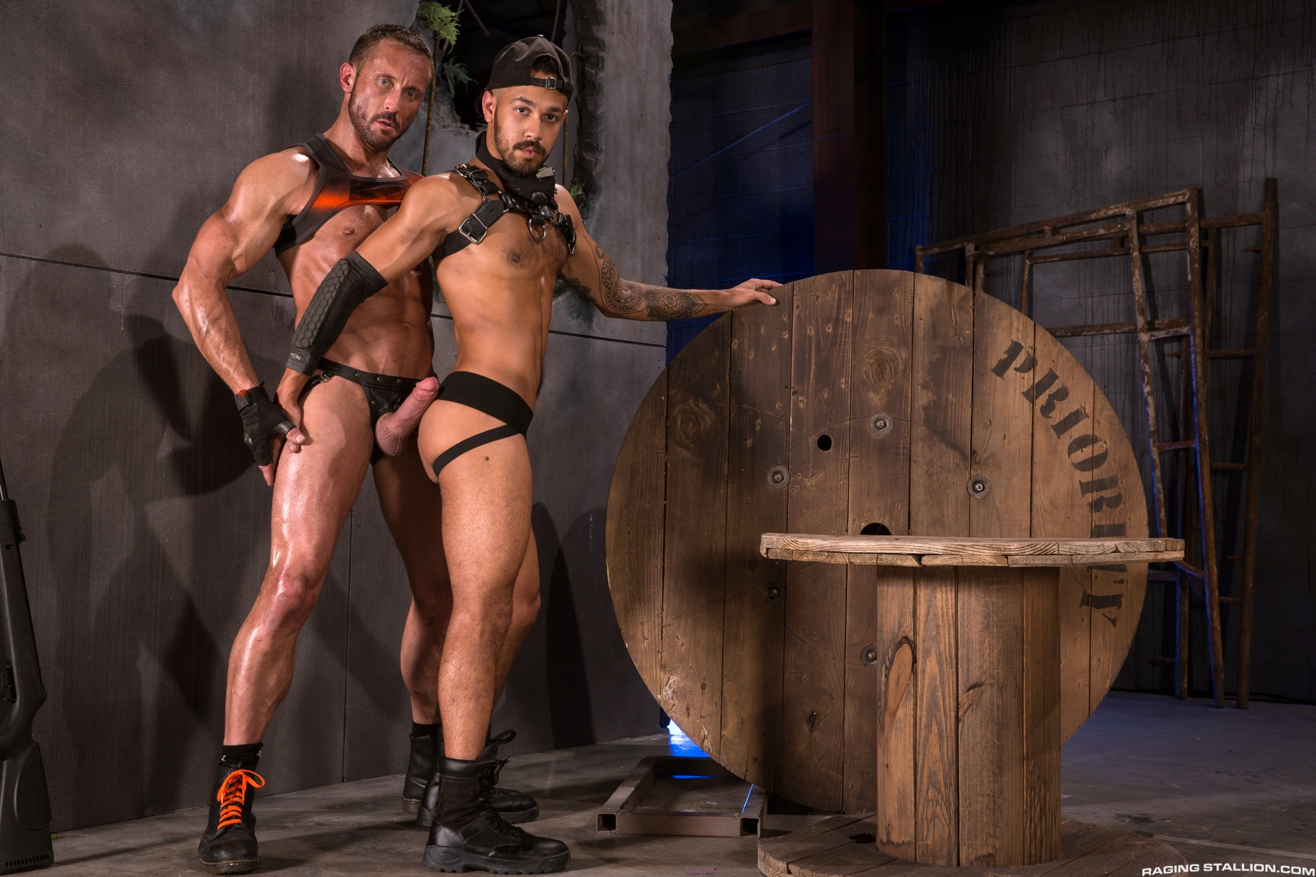 Leather Men: Myles Landon and Talon Reed – Pictures