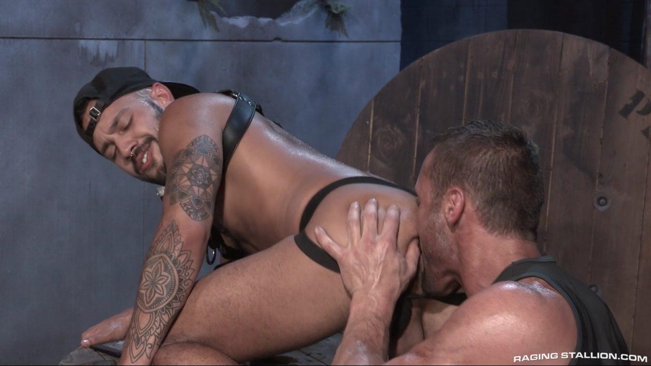 Leather Men: Myles Landon and Talon Reed – Part 1