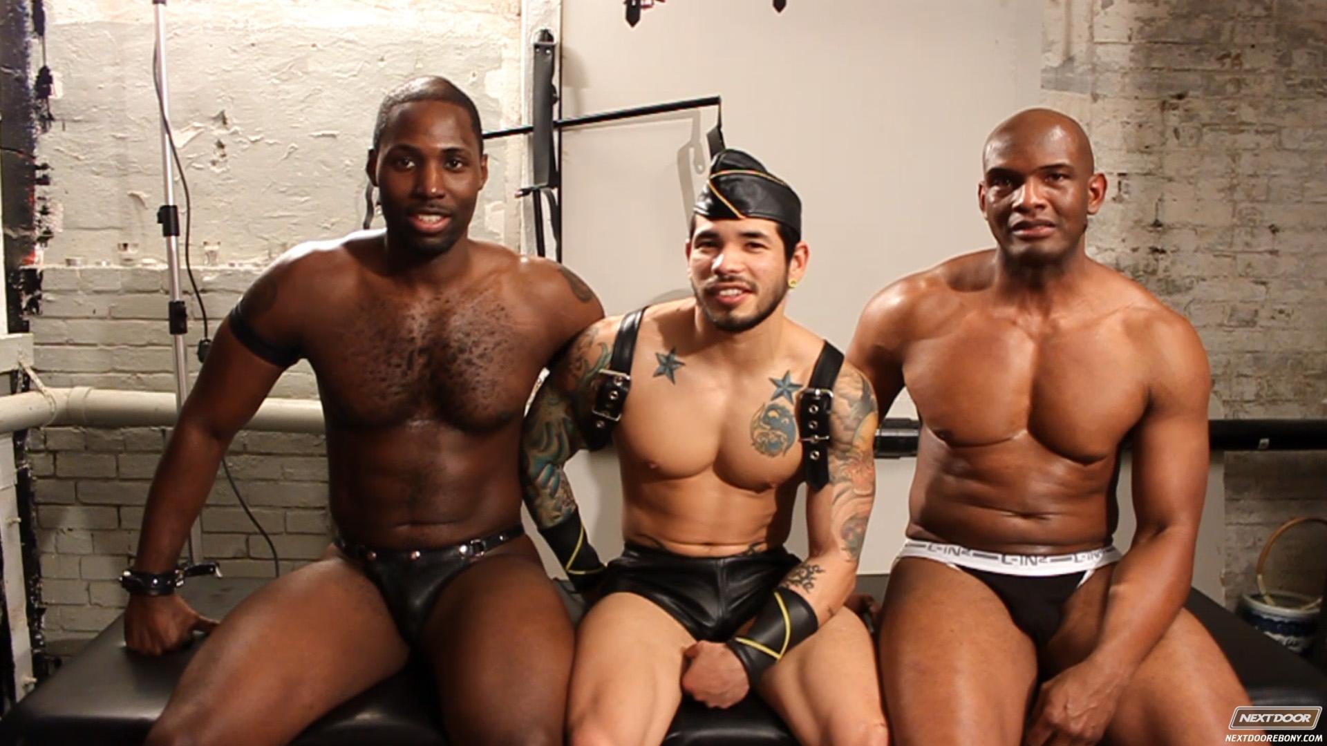 Leather Sex: Draven Torres, Montaz and Nubius