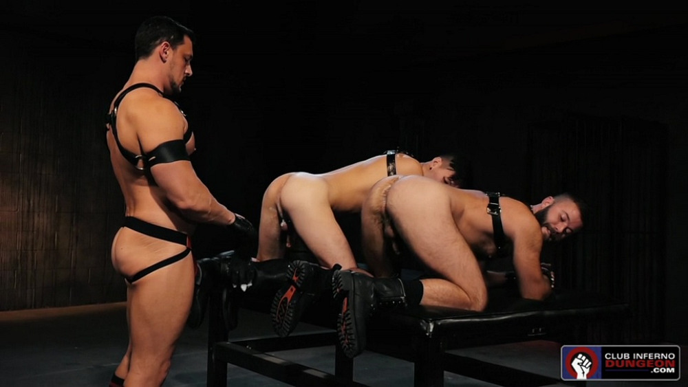 Leather Sex: Gage Lennox, Joey D and Issac Lin – Part 2