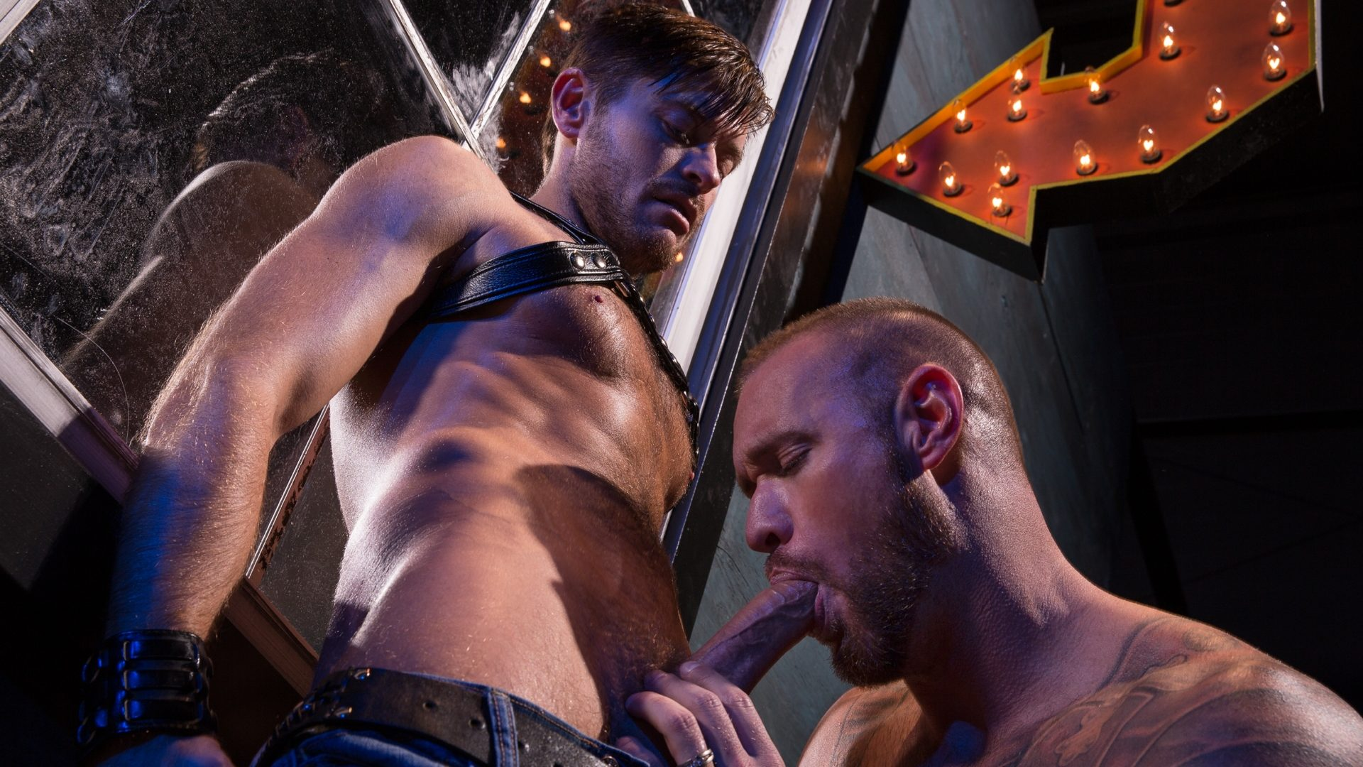 Leather Sex: Jack Andy and Michael Roman – Part 1