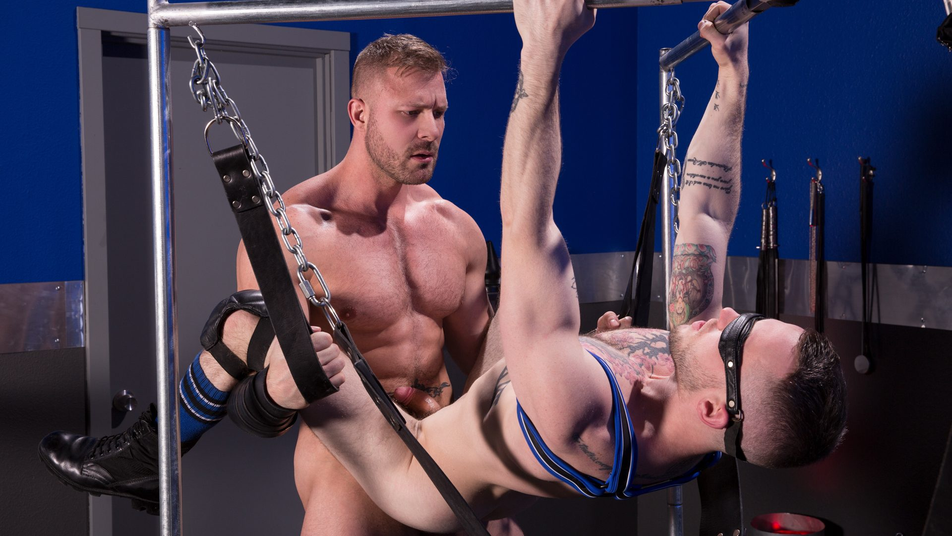 Leather Sex: Colton Grey and Austin Wolf