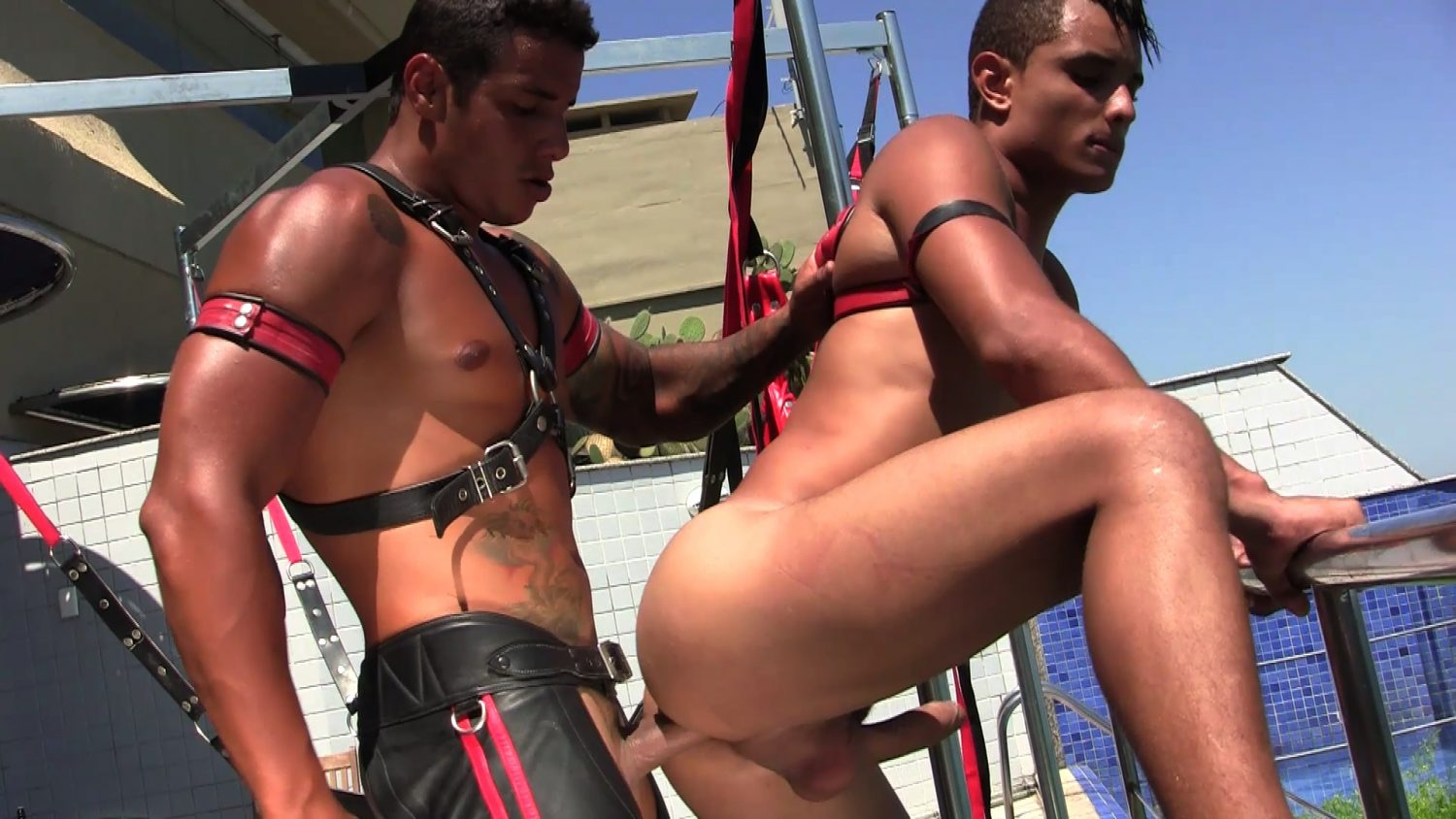 Leather Sex: Raphael and Ivan