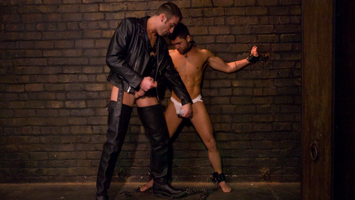 Leather Men: Spencer Reed and Dominic Pacifico