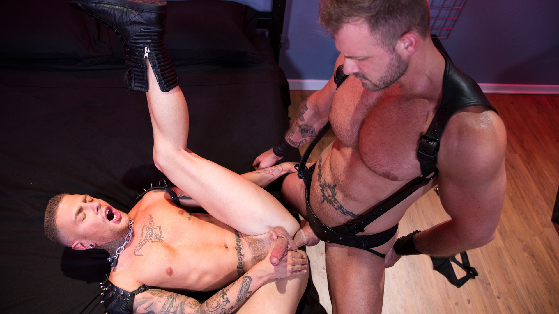 Leather Sex: Austin Wolf and Danny Gunn