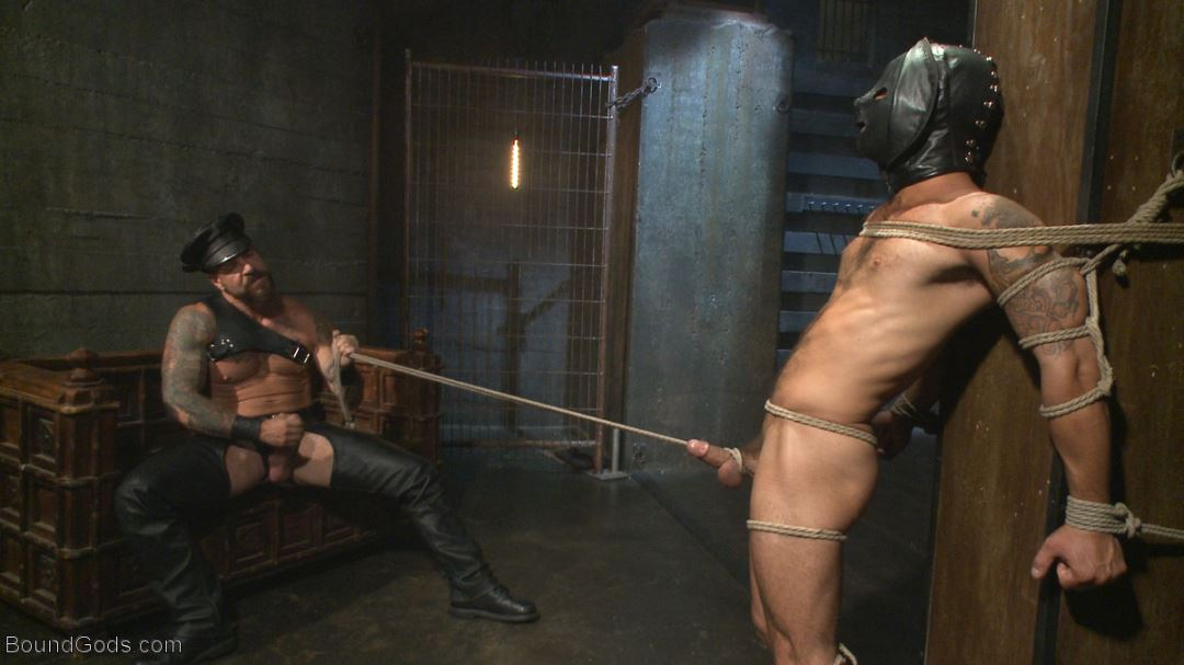 Leather Sex: Rocco Steele and Adam Ramzi
