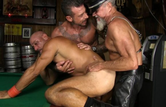 Bareback And Leather: Ray Dawson, Scott Pierson and Travis Woods