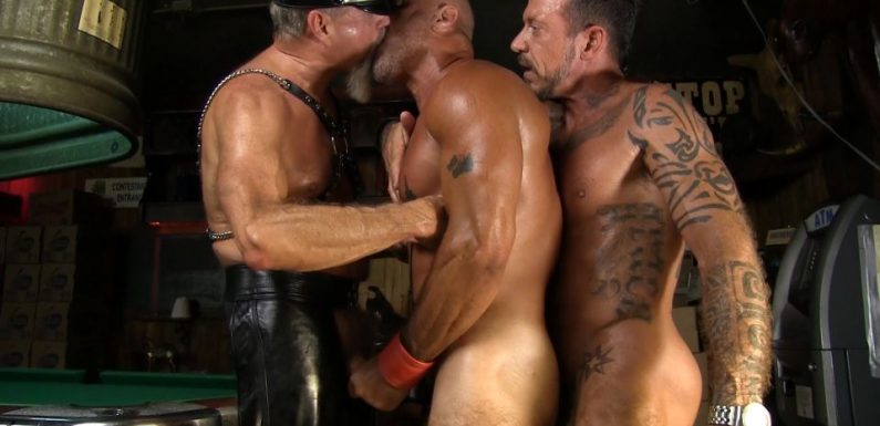 Ray Dawson, Scott Pierson and Travis Woods – Leather Photo Session
