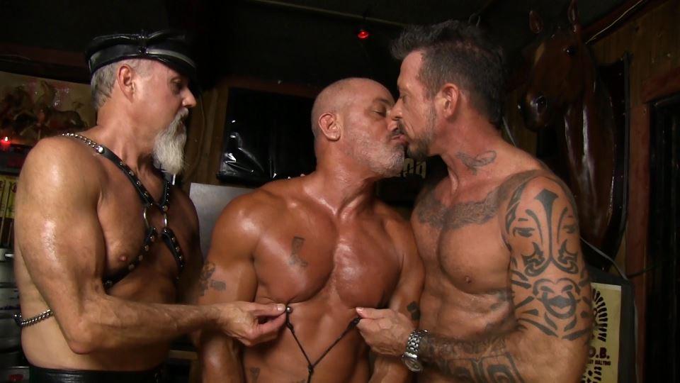 Ray Dawson, Scott Pierson and Travis Woods