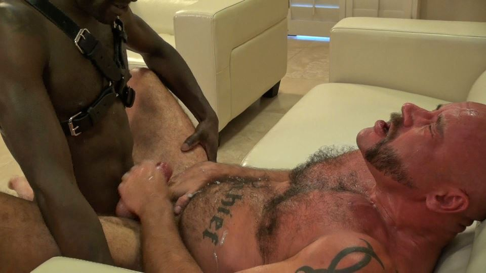 Bareback & Leather: Noah Paris and Muscle Bear Mischief