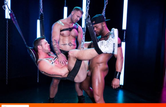 Leather Sex: Micah Brandt, Ryan Rose and Austin Wolf – Pictures