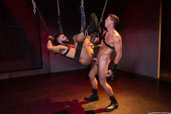 Leather Sex: Rikk York and Pierce Paris