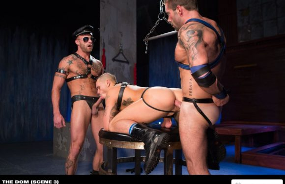 Tate Ryder, Derek Parker and Jake Genesis – Leather Photos