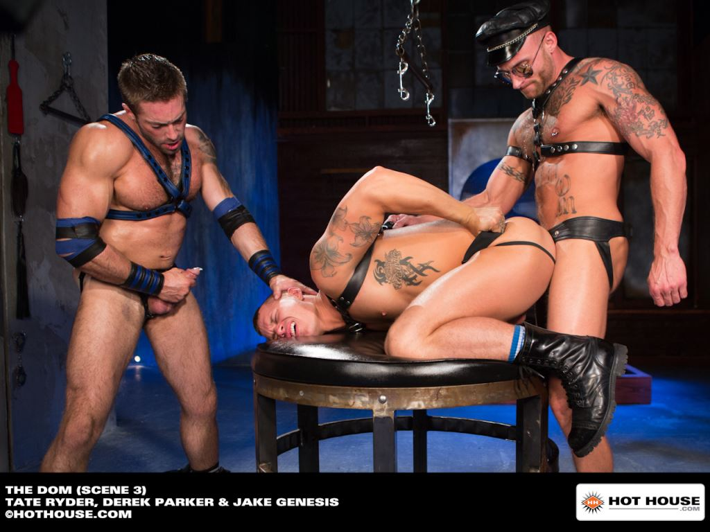 Tate Ryder, Derek Parker and Jake Genesis