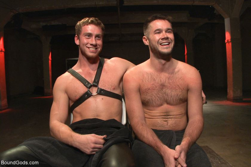 Leather Top Connor Maguire Fucks & Torments Mike de Marko
