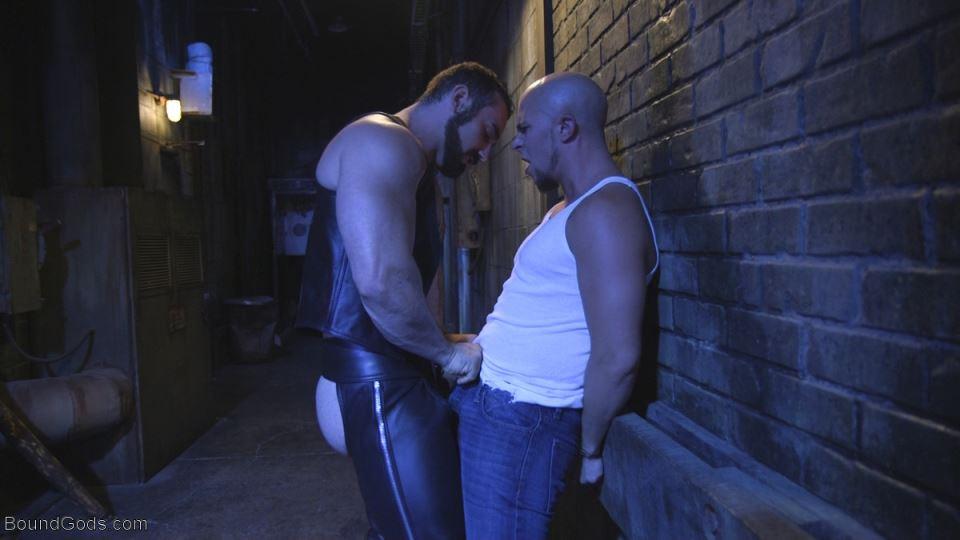 Leather Master Jaxton Wheeler Fucks and Torments Eli Hunter