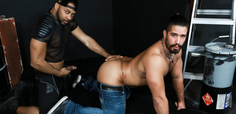 Leather Sex: Trey Turner and Ray Diesel