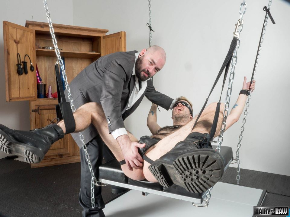 Hairy Leather Bears: Bearsilien and Ben Fox