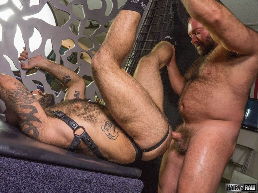 Leather Sex: Brad Kalvo and Atlas Grant