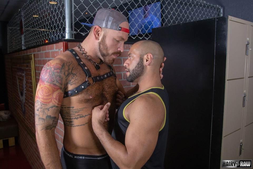 Leather Bar Sex: Parker Logan and Leo Forte